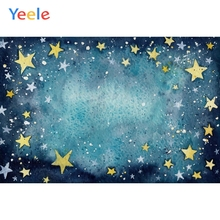 Yeele Wallpaper Night Ctue Gold Stars Water ripples Photography Backdrops Personalized Photographic Backgrounds For Photo Studio