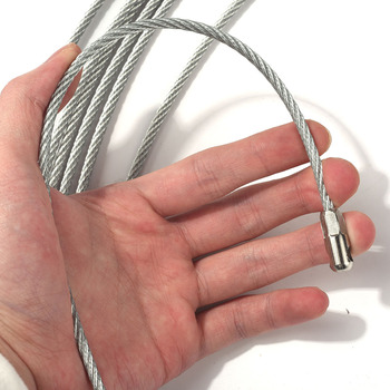 Electrician Wire Cable Threading Device Running Puller Leads with 2pcs Steel Rope Connector TN99 5 10 15 20 25 30 50m cable puller electrical wire fish tape cable wire puller lead device construction electrician hand tools