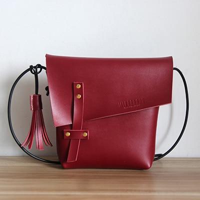 ФОТО 2017 New luxury designer handmade leather women bag vintage shoulder bag female messenger bag rivet clamshell bag lady