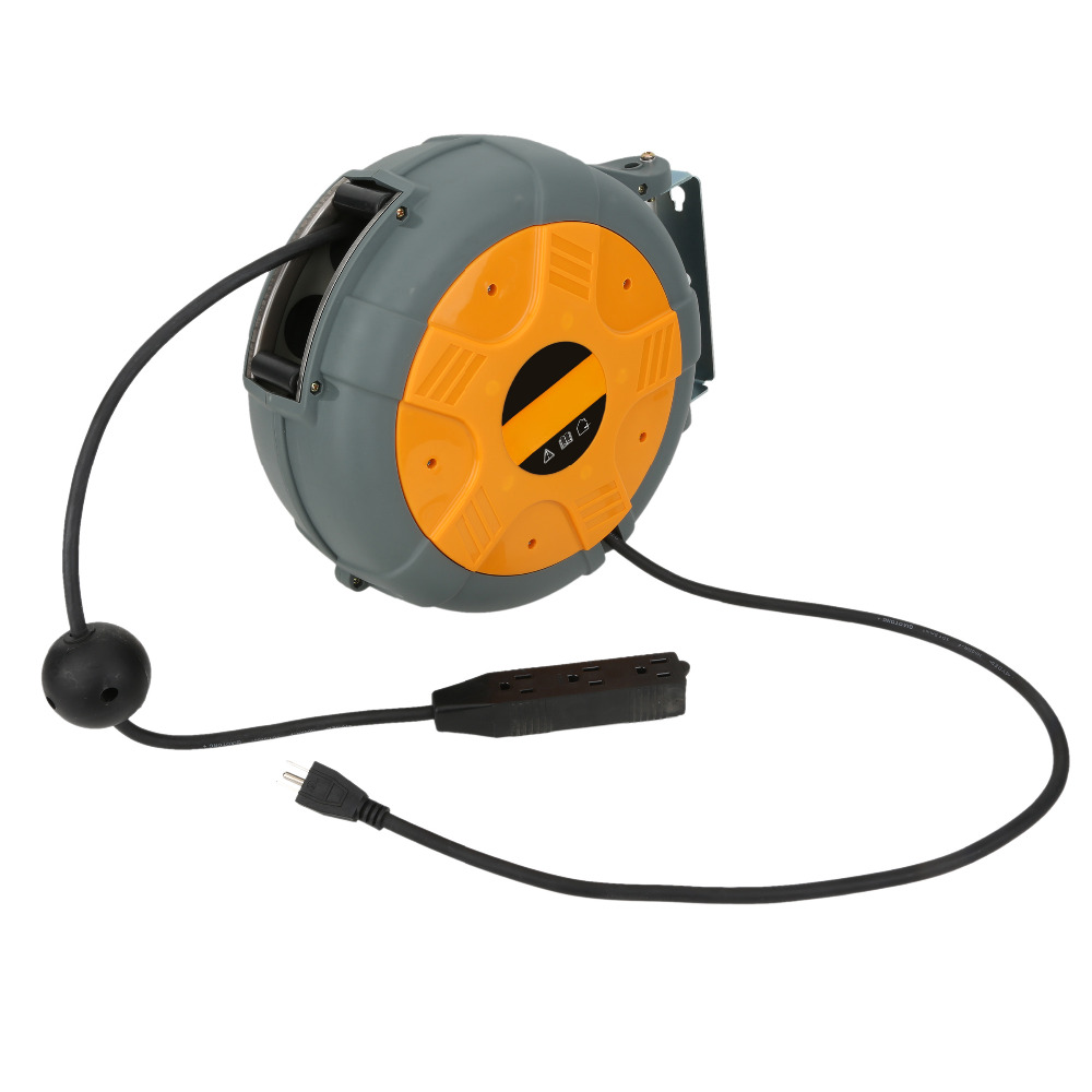 LS-150 Electric Auto Rewind Cord Reel Industrial Bls