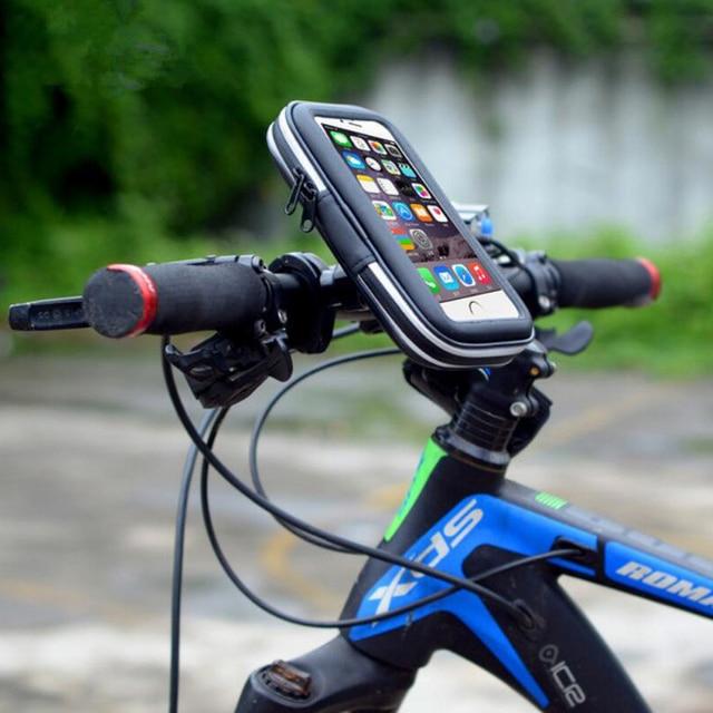 Waterproof For Iphone 6 6s Plus Bike Phone Bag Bicycle Holder