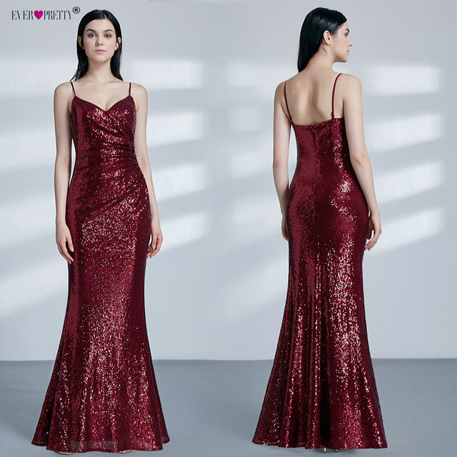 Gold Long Evening Dress Ever Pretty Back Cowl Neck EP07110GD Shine Sequin Sparkle Elegant Women Evening Party Gowns
