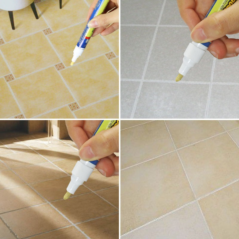 Non Toxic Grout Aide Repair Tile Marker Water Resistant Odorless