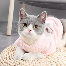 Cat Sweater Dog Jumper Kintwear Dogs Small Autumn Bow for XS XL Pet-Cat Butterfly