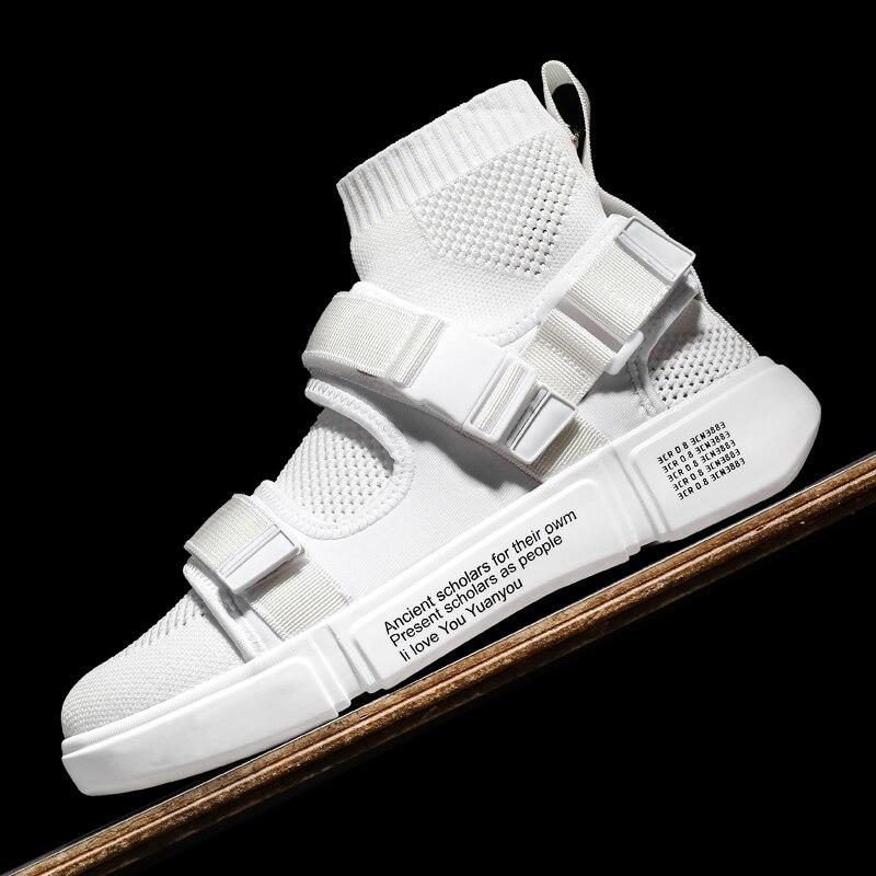 2019 Для мужчин модные Повседневное обувь напольная, удобная белые кроссовки новые осень зима хит продаж высокое прогулочная обувь; высокое качество