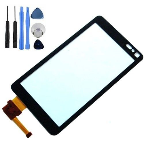 Vannego High Quality For Nokia N8 Touch Screen Digitizer Sensor Front Glass Lens Free Shipping