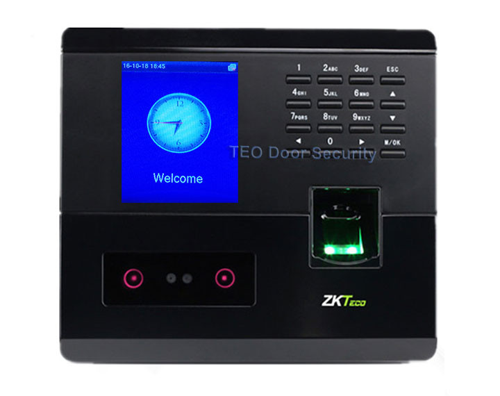 Face employee time clock ZKTeco UF200 support Face Fingerprint PSD  Indentification ZKFace VX7 0 Employee Time Tracker Free SDK-in Facial  Recognition