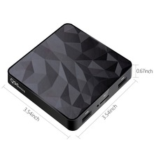 Android TV Box Q96 mini Amlogic S905W Quad Core 1GB RAM 8GB ROM 2.4GHz WiFi 4K HD 1080P Bluetooth Media Player Set Top Box недорго, оригинальная цена