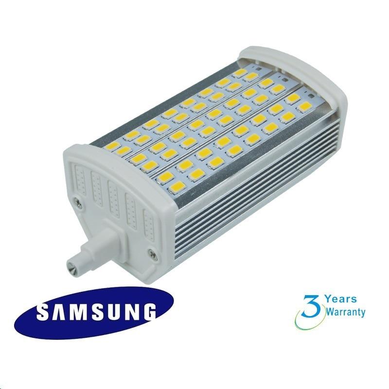 LED regulable 15W R7S luz 118mm J118 R7S luz reemplazar 150W halógeno proyector de lámparas Luces LED de pared para fiesta o Dj, 24 LEDs de Disco UV, Color Wash, luces LED de pared para Navidad, proyector láser, luces de pared