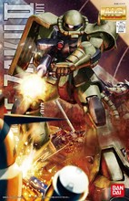 Bandai Gundam MG 1/100 MS 06F בזכו השני Ver.2.0 נייד חליפת להרכיב דגם ערכות פעולה דמויות פלסטיק דגם צעצועים