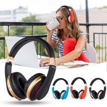 DSstyles Wireless Headphones Bluetooth Headset Foldable Stereo Gaming Earphones with Microphone for ipad and phone недорго, оригинальная цена