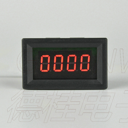 GWUNW DC 0-2000V Four Bit High Precision Voltmeter Digital Display High Voltage Voltage Meter 0.36 Inch 4 Bit LED