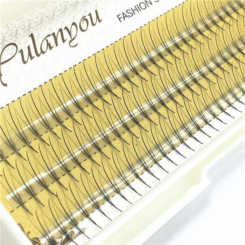 6d Natrual Mink Hair Silk Lashes Eyelash Extensions Fake Lashes 8mm-13mm Long Fake Eye Lashes Beauty Fake Eyelashes Dropship