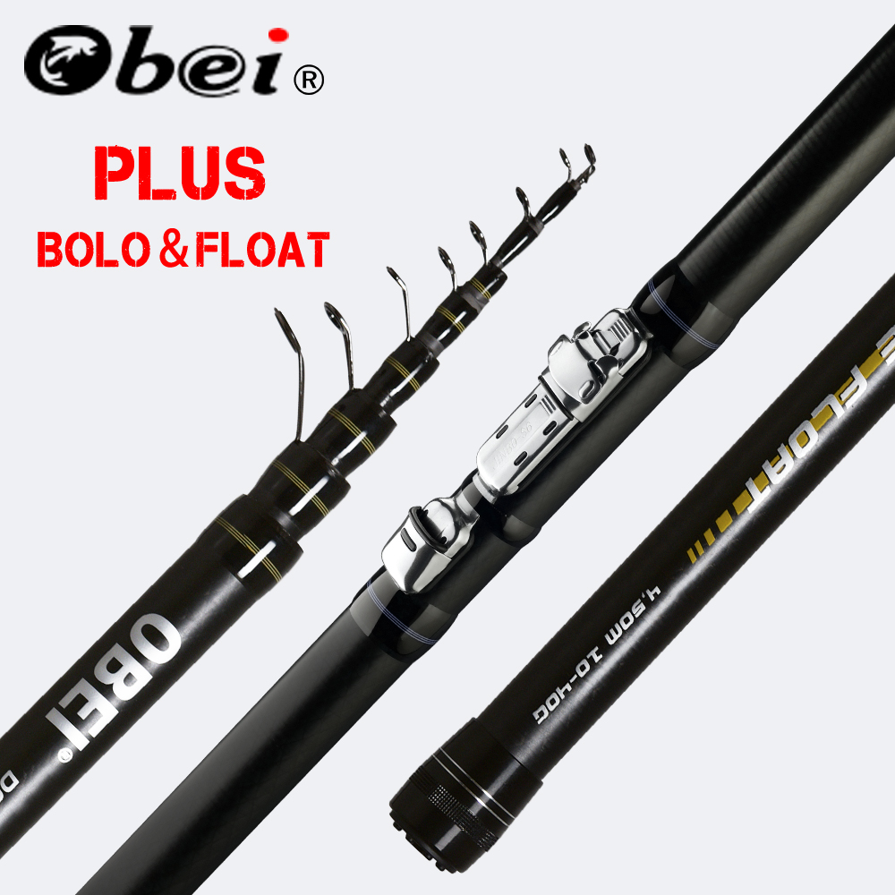 obei INTENSA Telescopic Portable Bolo Fishing Rod 3.8 4.5 5.2m Travel Ultra Light Spinning Casting float fishing 10 40G pole rod