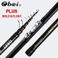 obei INTENSA Telescopic Portable Bolo Fishing Rod 3.8 4.5 5.2m Travel Ultra Light Spinning Casting float fishing 10 40G pole rod