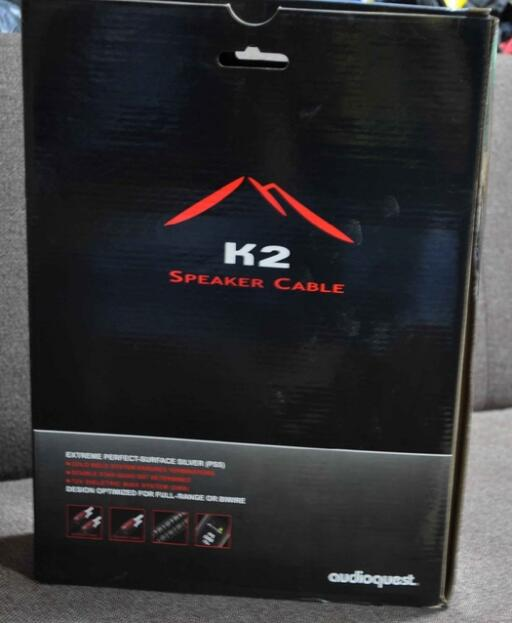 Pair K2 speaker cable free update NEW 72V DBS silver Banana plug no original box for HIFI цена и фото