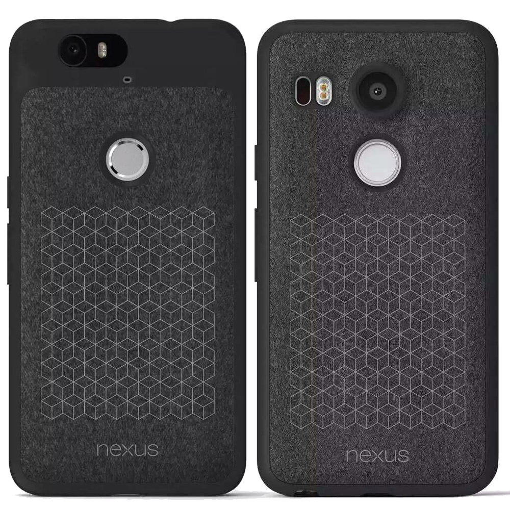For LG Nexus 5X 6P Leather Original Case TPU Soft Back Cover For Huawei Google Nexus5X