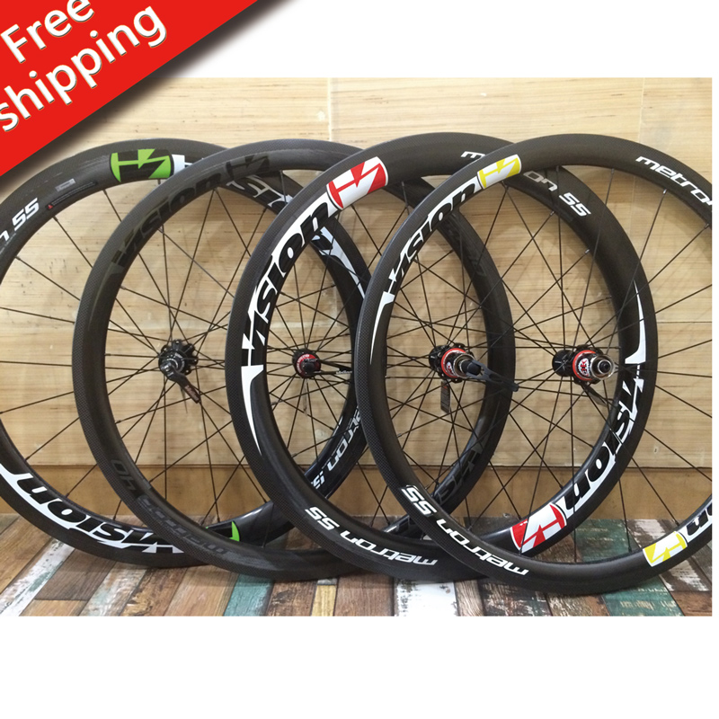 VISION METRON Wheel Rim Stickers Road Bike bicycle Racing Cycle For rims 55 mm 58 mm replacement rim decals vision metron55 2018 new brand bicycle frame stickers mtb dh cycling road ride decals bike frame decorative decals racing diy name stickers