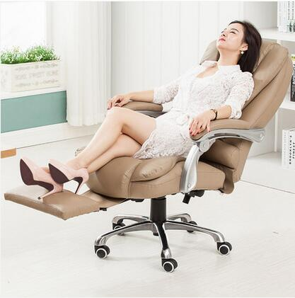 Can be lying really leather computer chair home office chair leather massage boss chairCan be lying really leather computer chair home office chair leather massage boss chair