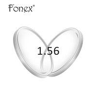 1.56 (SPH-0.00 ~-4.00 또는 + 0.25 ~ + 4.00) 처방 CR-39 수지 lense에 비구면 안경 렌즈 근시 원시 노안 렌즈