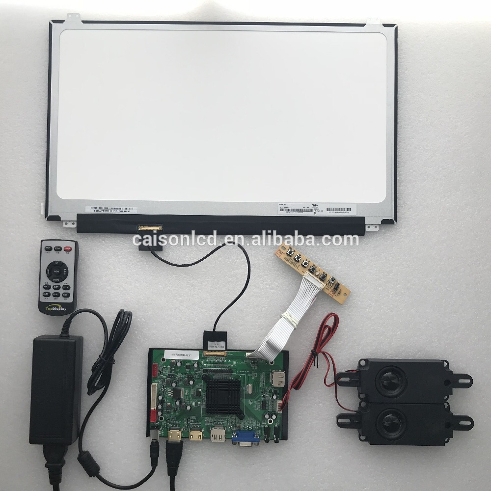 2HDMI+VGA+DP+Audio 4K LCD controller board support 17.3 inch lcd panel with 3840*2160
