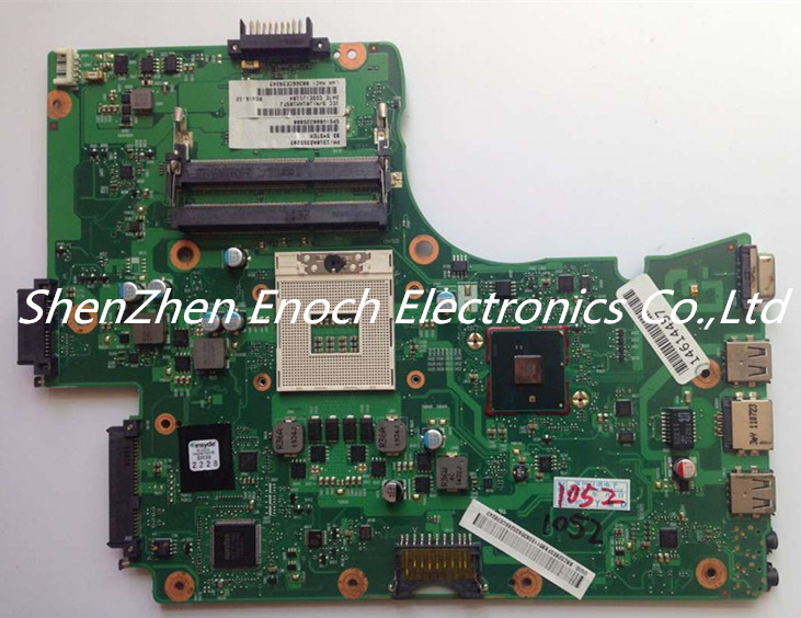 V000225000 for Toshiba satellite C650 C655 Laptop motherboard DDR3 HM55 6050A2355202-MB-A03-TI two months warranty stock No.398