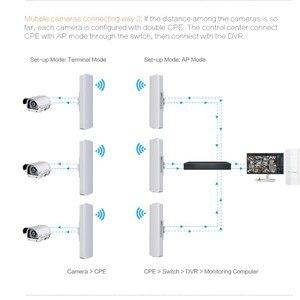 Image 3 - Comfast cf 3 5 キロ長距離ハイパワー無線ブリッジcpe 2.4 グラム & 5.8 グラム 300 150mbpsの無線lan信号ブースター増幅中継apルータ