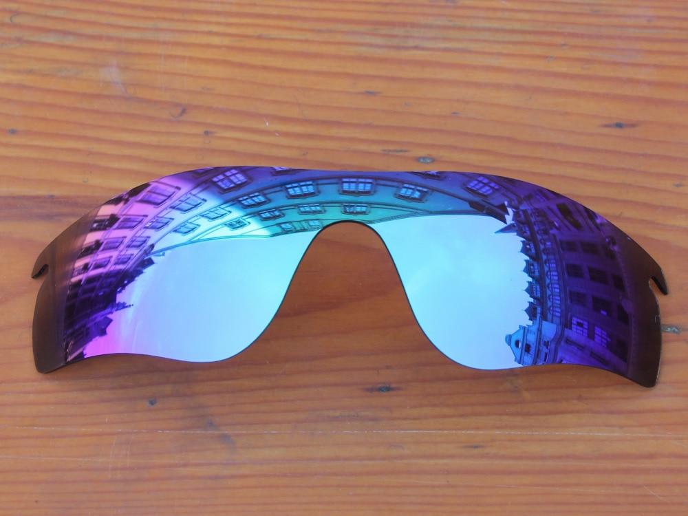7c0cfbb3e32640 Polycarbonate-Glace Bleu Miroir verres de Remplacement Pour RadarLock  Chemin Lunettes de Soleil Cadre 100% UVA et UVB Protection