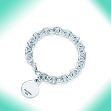 Bulgaria Circular classic Bracelet Original 100% 925 Sterling Silver Women Free Shipping Jewelry High-end Quality Gift logo 1:1 цена 2017