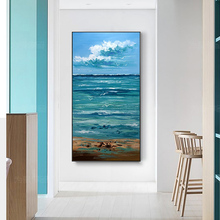 100% Hand Painted Abstract Scenery High-quality Oil Painting On Canvas Wall Art Wall Adornment Pictures Painting For Home Decor цена в Москве и Питере