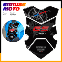 3D Motorcycle Fuel Gas Tank Pad Protector Case for BMW F650GS F650 GS 2008 2009 2010 2011 2012 цена 2017
