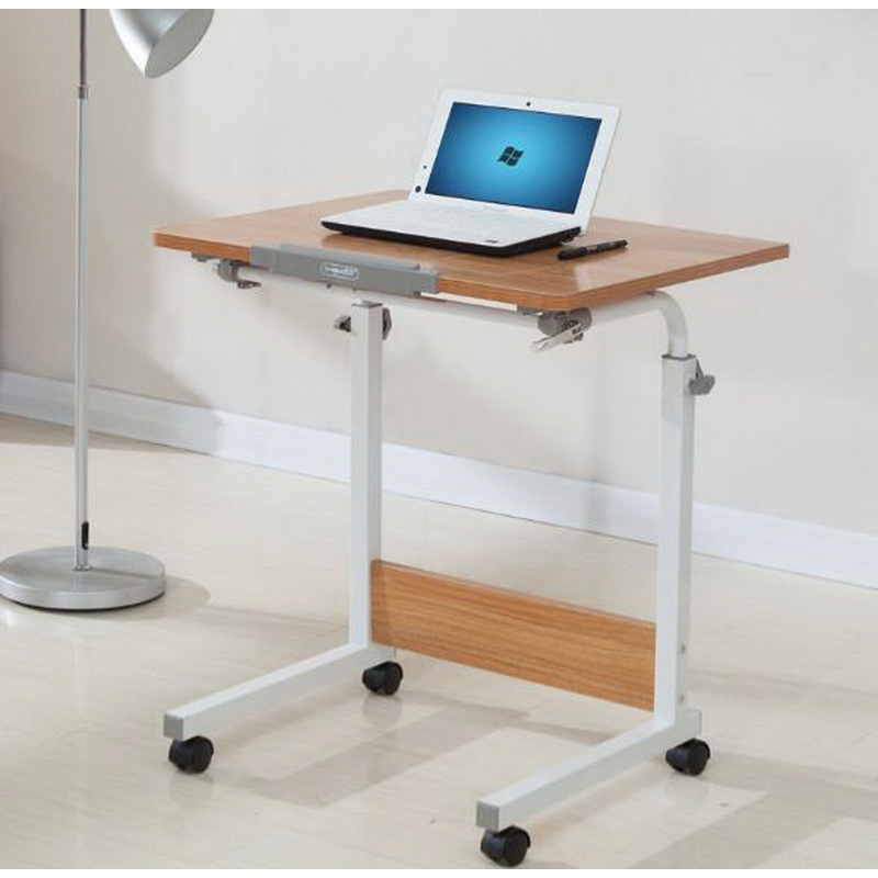 250306/High quality desktop/Thicker pipe/Home bed with simple desk /Folding mobile small desk/Lazy bedside laptop desk / Стол