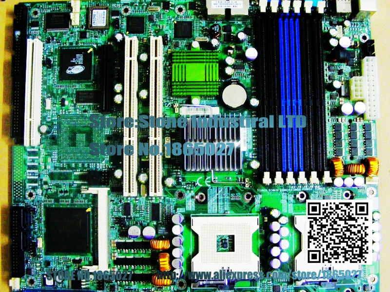 X6DVA-EG -way server board E7320 800 FSB 604 platform 100% test good quality