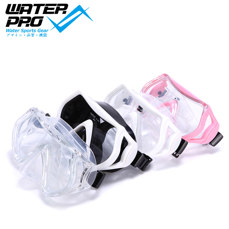 Water Pro Vyper-Solo Frameless Mask Various Colors Tempered Glass Scuba Dive цена и фото