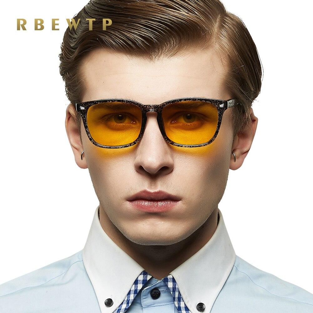 Dynamisch Rbewtp Marke Blau Licht Blockieren Gläser Led Lesebrille Strahlung-beständig Gelb Computer Gaming Brillen Rahmen Brillen
