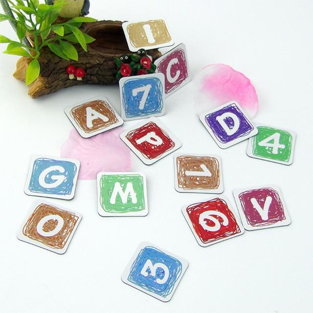 soft magnet alphabet letter number fridge magnet sticker magnetic letters decorative refrigerator sticker child educational toy
