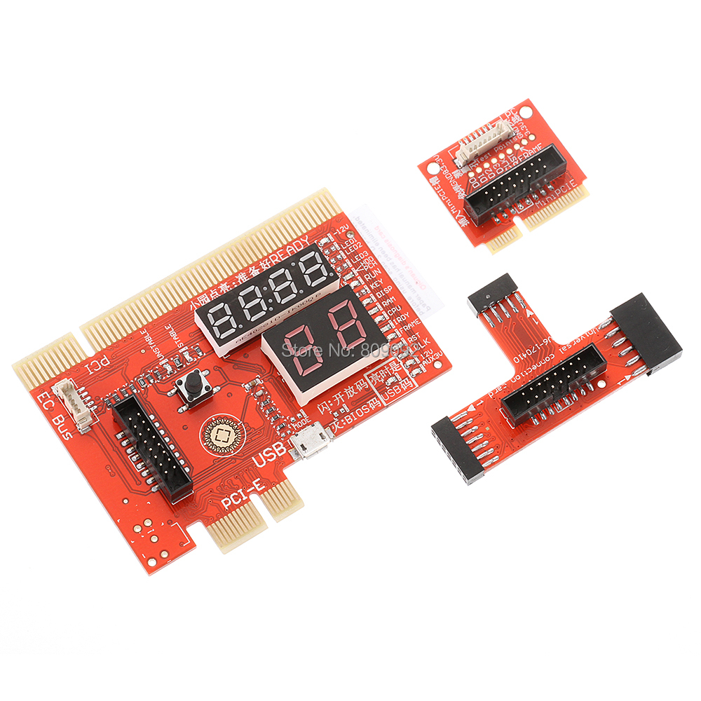 PCI/PCIE/MiniPCIE/LPC/EC Motherboard Diagnostic Computer Analyzer LCD Tester Card For PC Notebook