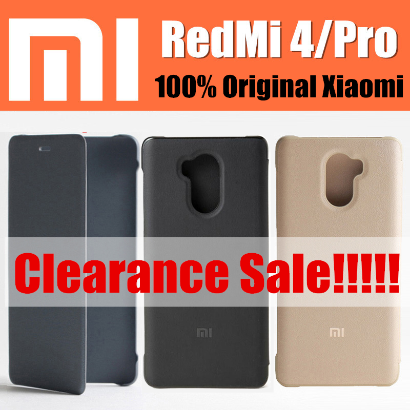 xiaomi redmi s case original from xiaomi pu leather flip cover case