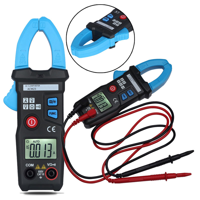 High Quality Digital Clamp Meter Multimeter AC DC Current Volt Tester ACM23 Current Voltage Capacitance Resistance Tester  цены