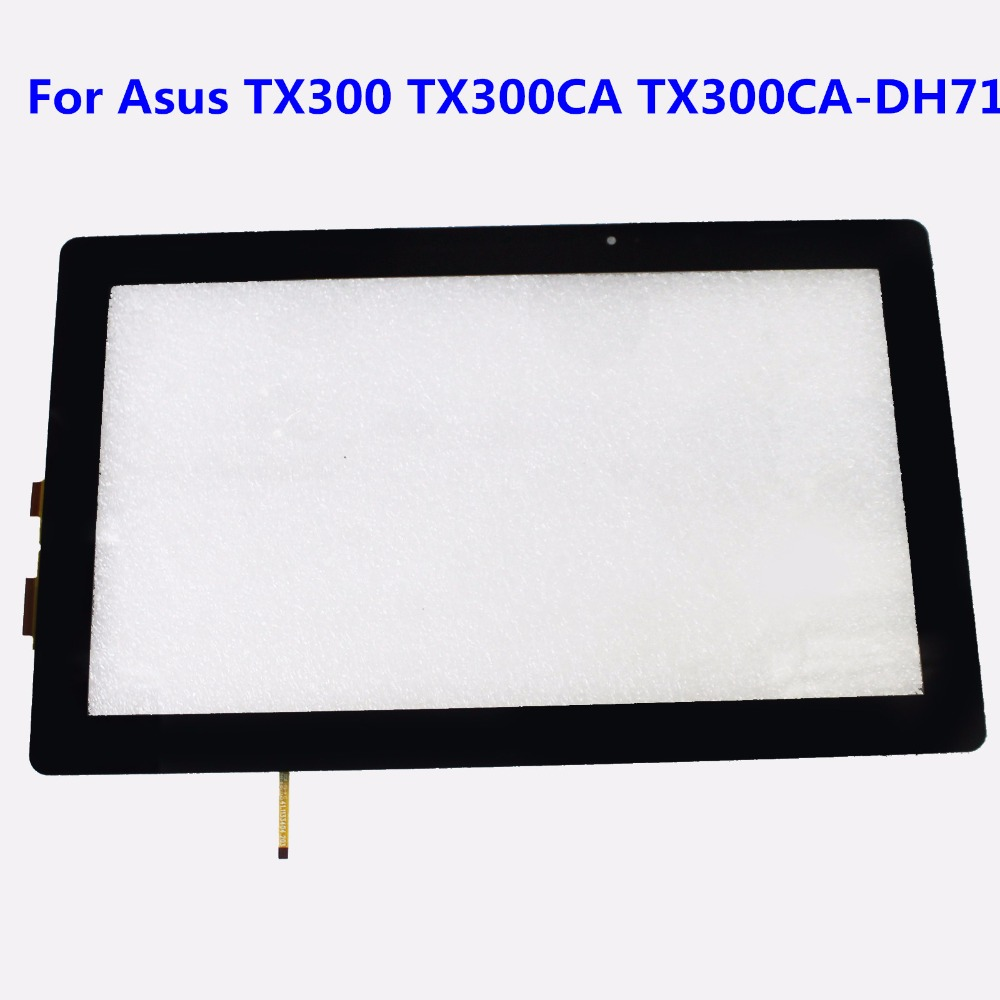 High Quality For Asus Transformer Book TX300 TX300CA TX300CA-DH71 Touch Screen Digitizer Glass Panel Replacement with tracking black full lcd display touch screen digitizer replacement for asus transformer book t100h free shipping
