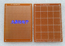 98-25 Бесплатная доставка 10 шт. 5×7 см Прототип Бумага PCB Универсальный платы