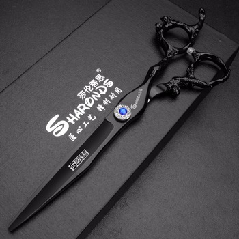 sharonds hair salon dedicated 5 5 inch hair scissors personalized diamond hair styling tool stainless steel hairdressing scissor 7.0 inch Hair Cutting Scissors Hairdressing Stainless Steel Professional Hair Scissors Thinning Shears Salon Barber Scissors