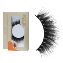 Crisscross Mink Lashes Messy Wispy Full Strip Lashes Natural Long High Volume Mink Lash Extention Be