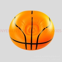 Basketball Inflatable Sofa Air Bean Bag Chair Portable Outdoor Garden Sofa 10pcs