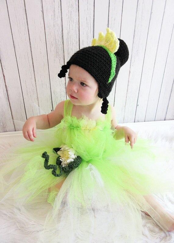 Princesa inspirado Beanie ganchillo patrón-niño/adolescente/tamaño ...