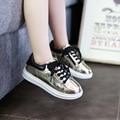 Девушки Обувь Детская Мода Крюк Петля Светодиодные Обувь Дети Свет Светящиеся Кроссовки Маленькие Девочки Принцесса Детская Обувь Со Светом