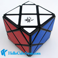 Dayan Dino Skewb Magic Cube Puzzle black and white and stickerless IQ Brain Cubos Magicos Puzzles