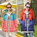 Беременные Женщины свободно Материнства Зимнее Пальто Куртки Корейских Девушки длинные Зимняя Куртка Толщиной Проложенный Вниз большой размер 3XL