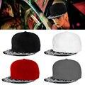 Hot New Paisley Black Unisex Snapback Hats Men Women Hip-Hop Dance Adjustable Bboy Cap gorras Cheap Z1