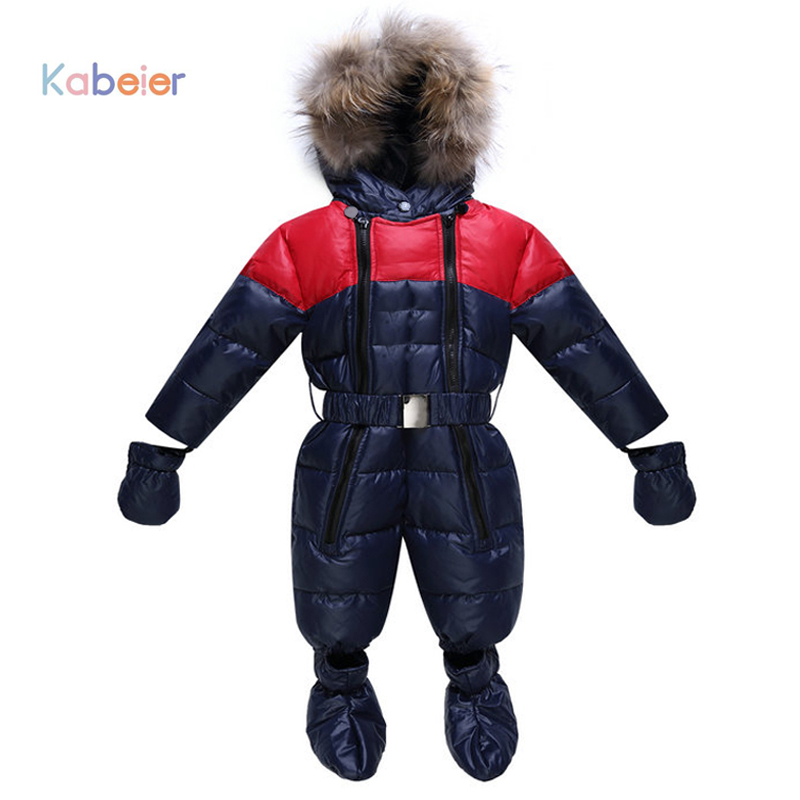 Baby Snowsuit Boy Girl Clothing Rompers Winter Brand Infant Snow Clothing 2017 Baby Hooded Rompers Cotton Padded Baby Clothes 2017 summer kids panda rompers baby boy clothing baby rompers baby girl clothes kikikids vestidos girls clothing boys clothing